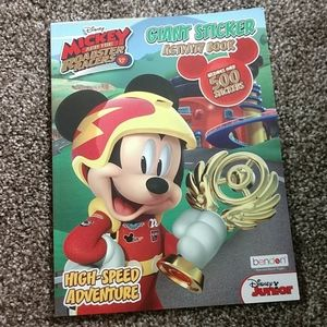 Mickey Mouse and the roadster racers